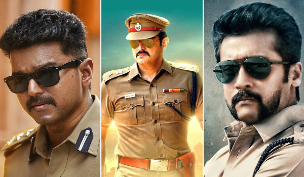 Who got the cop look perfect – Vijay, Ajith or Suriya?