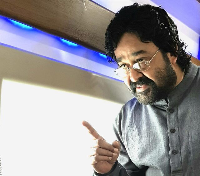 Revealed: Mohanlal's look from Lal Jose's Velipadinte Pusthakam