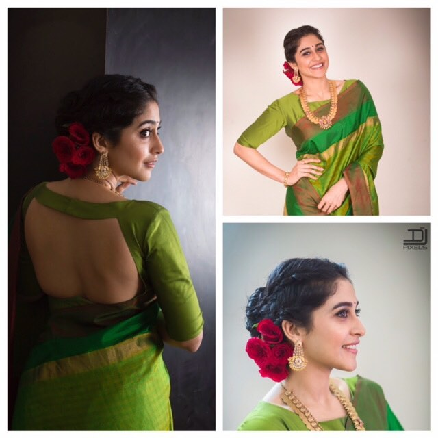 Regina Cassandra in Taia by Tanmayi Reddy