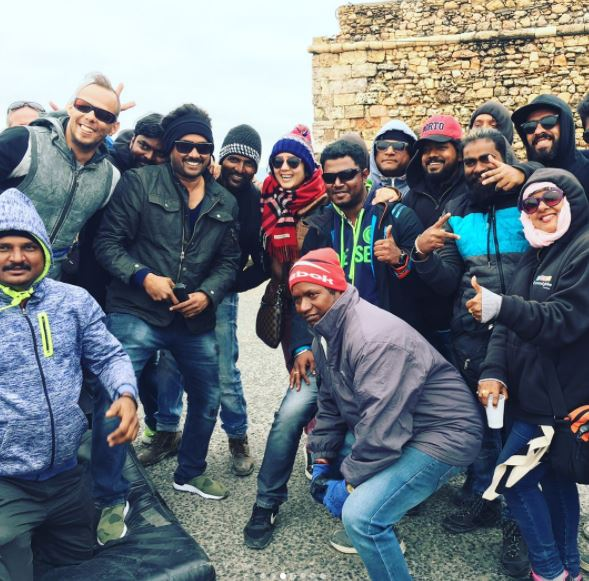 Photos: These pictures from the shooting sets of Balakrishna-Puri Jagannadh film are fascinating