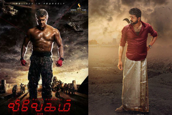 Fan Poll: Who will emerge as the winner – Ajith's Vivegam or Vijay 61?