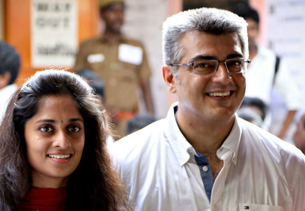 Top Pictures of Ajith and Shalini that prove why they are the cutest star couple of Kollywood