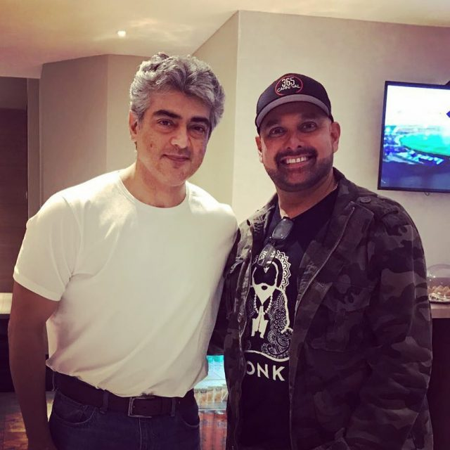 Ajith Kumar looks quite handsome in his latest photo