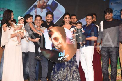 Duvvada Jagannadham Audio Launch Photos