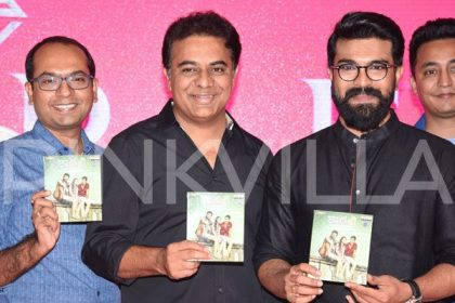 Photos: Ram Charan and KTR attend the audio launch of Kaadhali