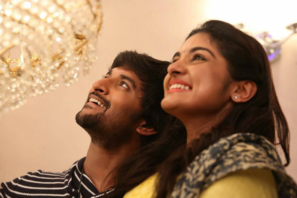 This conversation between Nani and Nivetha Thomas is testimonial to their wacky camaraderie