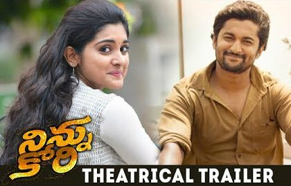 Ninnu Kori Theatrical Trailer is out now