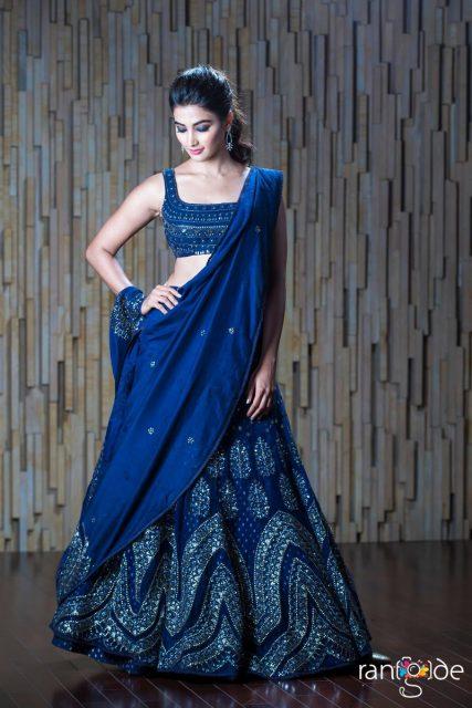 Pooja Hegde in JADE for Duvvada Jagannadham audio launch