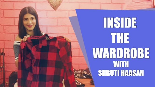 EXCLUSIVE: Shruti Haasan Takes us through her wardrobe staples inside her closet
