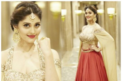 Surbhi makes a stunning statement in traditional wear