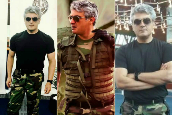 Unseen pictures from Ajith's Vivegam