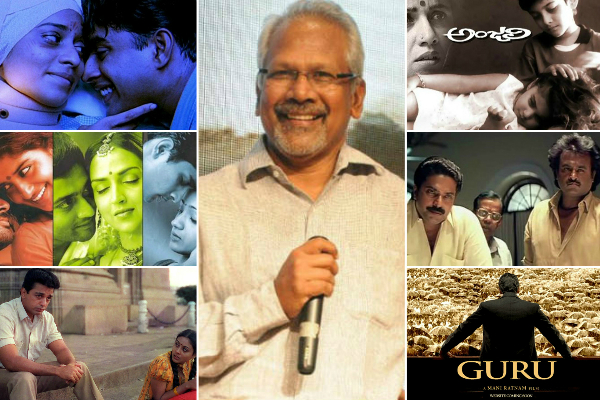 Birthday Special: Top films that make Mani Ratnam the doyen of Tamil cinema