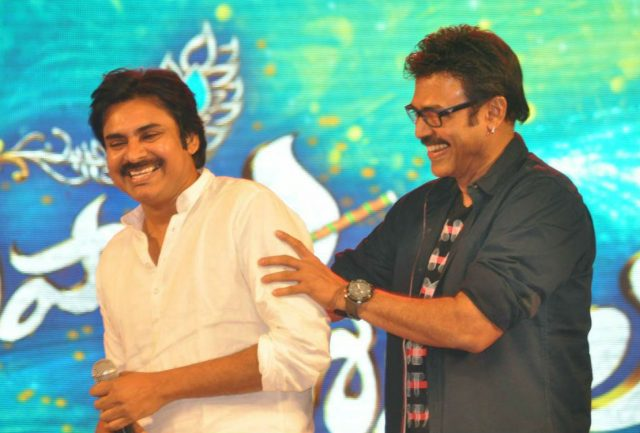 Venkatesh will appear in a cameo in Pawan Kalyan's upcoming film