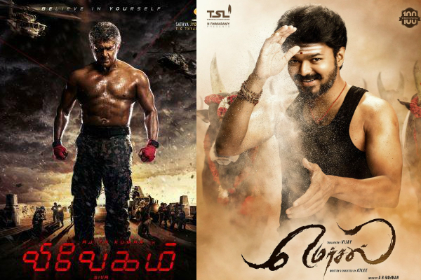 Whose first look did you like the most – Ajith's VIVEGAM or Vijay's MERSAL?