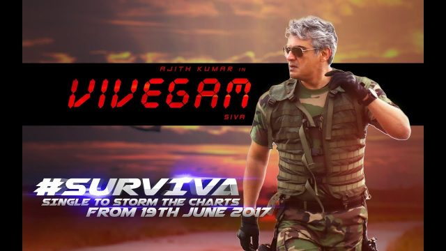 First Single track from Ajith's Vivegam will be released on June 19