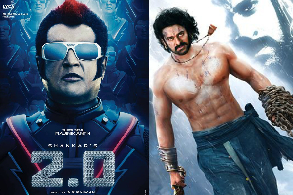 Rajinikanth's Robo 2.0 all set to beat Baahubali's records