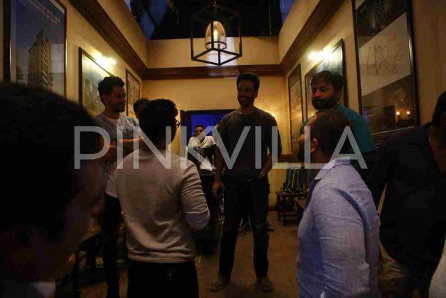 Photos: Allu Arjun visits the shooting location of Rohit Shetty's Golmaal Again in Mumbai