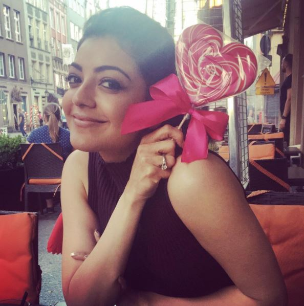 Photos: These pictures of actress Kajal Aggarwal prove that she is a great poser