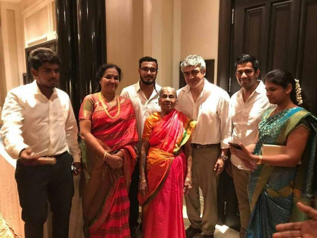 These Photos Of Ajith Kumar At A Wedding Reception Are Treat For His Fans