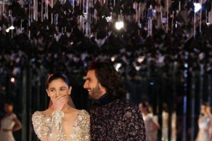 रैम्प पर दिखा आलिया भट्ट और रणवीर सिंह का शानदार अंदाज़