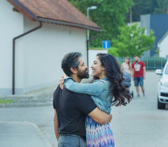 These photos from Dhruva Natchathiram of Vikram and Ritu Varma are cute