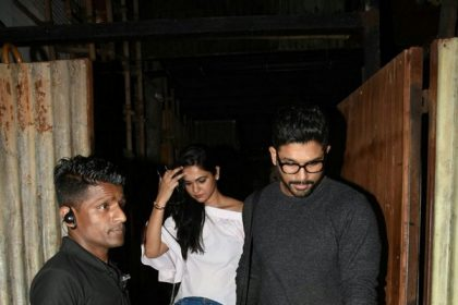 PICS: Allu Arjun spotted on a late night dinner date with wife Sneha Reddy