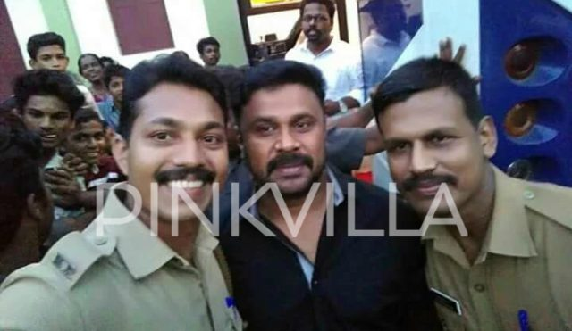 While the world is talking about what led to his arrest, police personnel take selfies with actor Dileep inside police station
