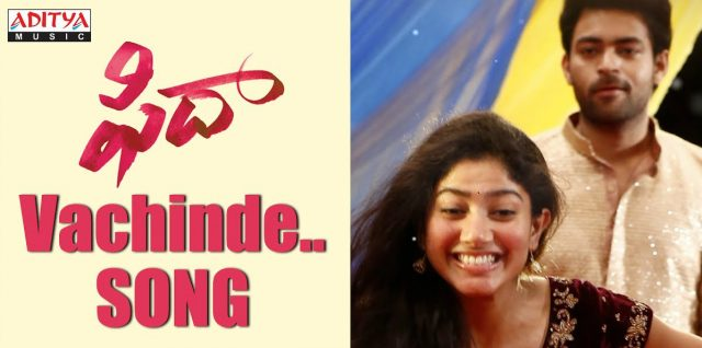 First single from Fidaa starring Varun Tej and Sai Pallavi is out now