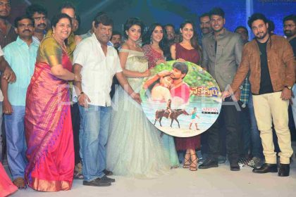 Photos: Music album of Nakshatram released in a splendor event