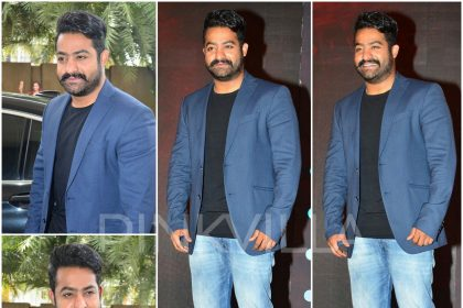 Jr NTR in Armani and Diesel