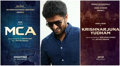 Natural Star Nani now has interesting films lined up – MCA and Krishnarjuna Yudham