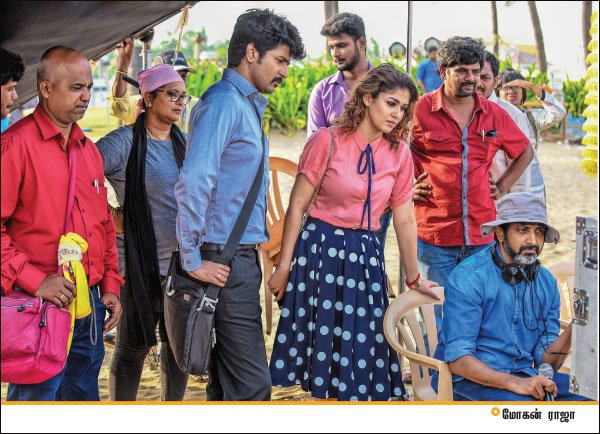 These pictures from Velaikkaran starring Sivakarthikeyan and Nayanthara are quite interesting