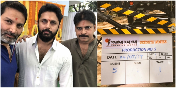Nithiin's upcoming film produced by Pawan Kalyan starts rolling from today