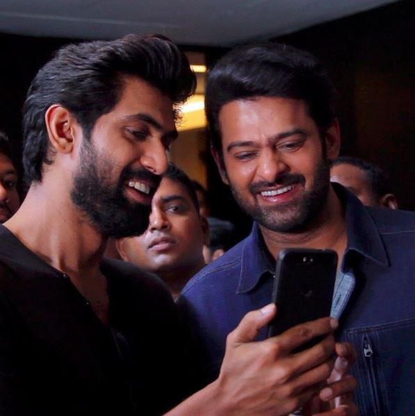 Prabhas and Rana Daggubati try their hands at 3D Augmented Reality