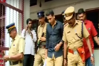 'Big Sharks will be caught' said Pulsar Suni while being taken to the court