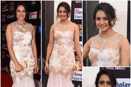 Rakul Preet in Marchesa at SIIMA 2017