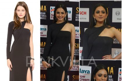 Rakul Preet in Yigal Azrouel at SIIMA 2017