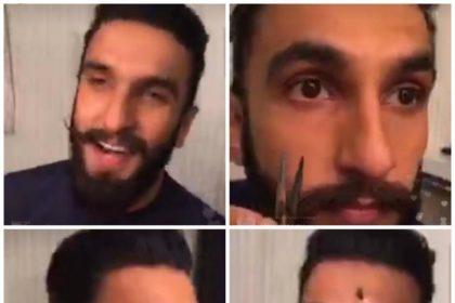 बदल गया रणवीर सिंह का लुक, देखिये ये वीडियो