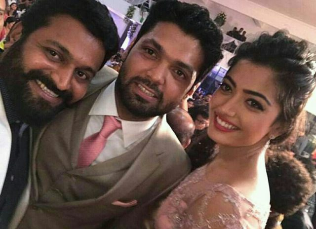 Best moments from the engagement ceremony of Rashmika Mandanna and Rakshit Shetty