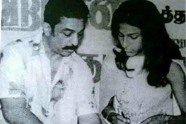 This rare picture of Shruti Haasan and Kamal Haasan is priceless