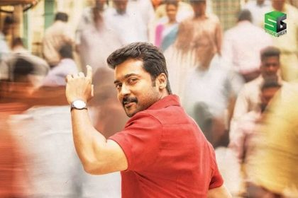 Suriya looks quite dashing in the first look poster of Thaanaa Serndha Koottam