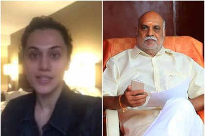 Taapsee Pannu apologizes for her comments about K Raghavendra Rao