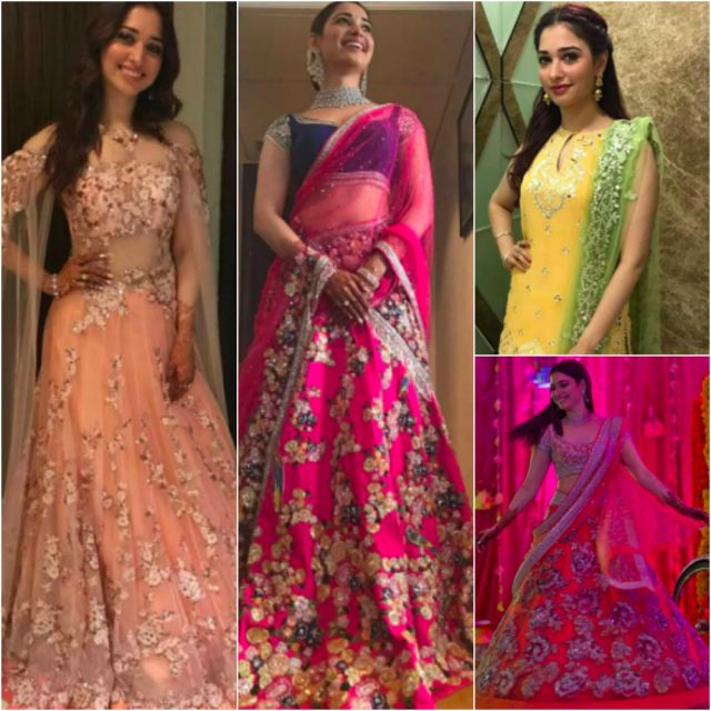 Tamannah Bhatia's style file: Wedding Dressing Lessons