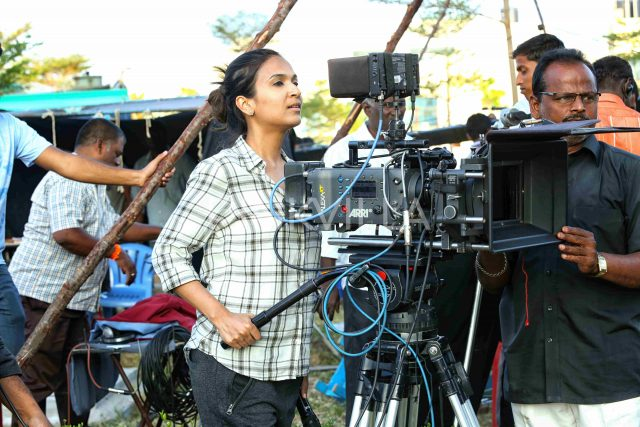Photos: Making of VIP 2 from the sets with Dhanush, Kajol and Soundarya Rajinikanth