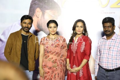 Photos: Kajol, Dhanush and Soundarya Rajinikanth promote VIP 2