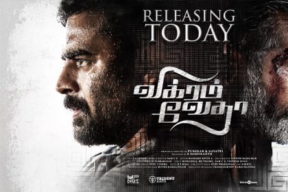Madhavan and Vijay Sethupathi starrer Vikram Vedha opens to a good response on first day of release