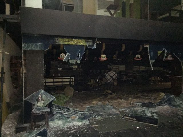 Angry mob vandalise restaurant owned by Dileep after being arrested by police