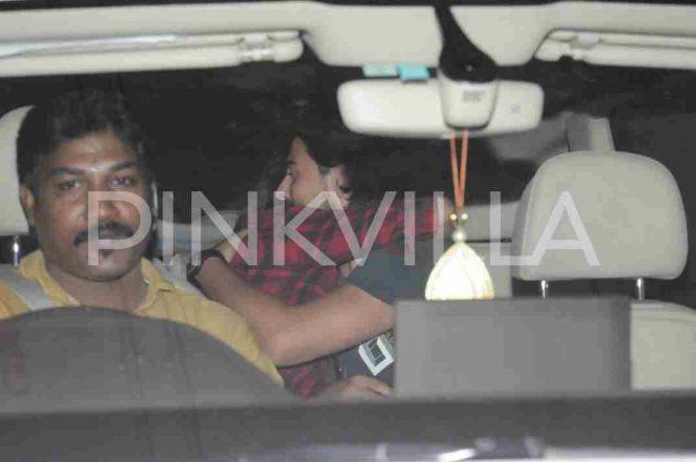 Photos: Shruti Haasan spotted with rumoured beau Michael Corsale in Mumbai