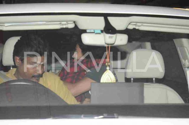 Photos: Shruti Haasan spotted with rumoured beau Michael Corsale in Mumbai