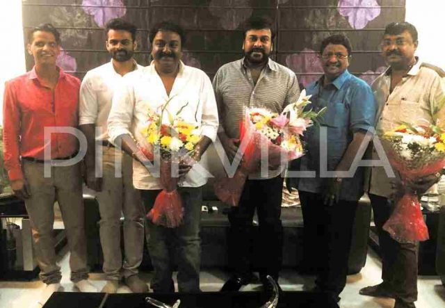 Photos: Sai Dharam Tej's next film with VV Vinayak gets officially launched